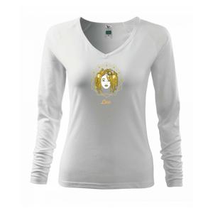Znamenie ženy - Lev SK (Pecka design) - Tričko dámske Elegance
