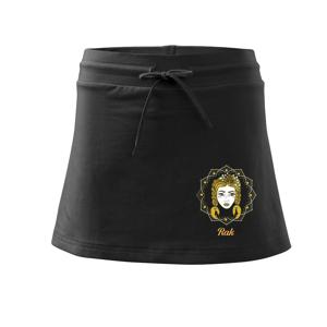 Znamenie ženy - Rak SK (Pecka design) - Športová sukne - two in one