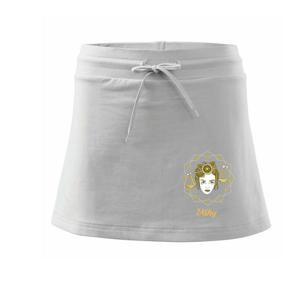 Znamenie ženy - Váhy SK (Pecka design) - Športová sukne - two in one