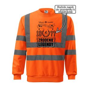 Zrodenie legendy - pre cyklistu - Reflexná mikina