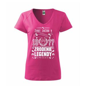 Zrodenie legendy - pre psíčkarov - Tričko dámske Dream