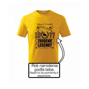 Zrodenie legendy - pre rybárov - Tričko detské basic