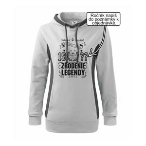 Zrodenie legendy - pre všetkých - Mikina dámska Kangaroo s kapucňou