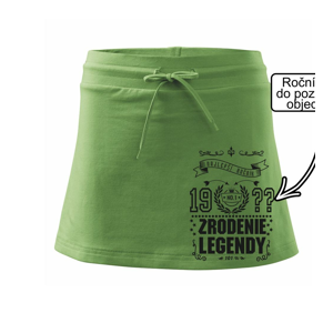 Zrodenie legendy - pre všetkých - Športová sukne - two in one